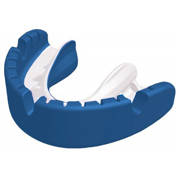OPRO shield gold ortho rugby mouthguard [blue]