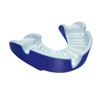 OPRO shield gold rugby mouthguard [navy blue]