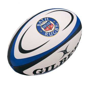 GILBERT bath mini rugby ball