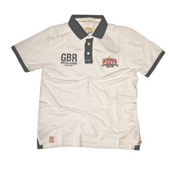 Kooga Great Britain 'British Sevens' Polo Shirt [white]