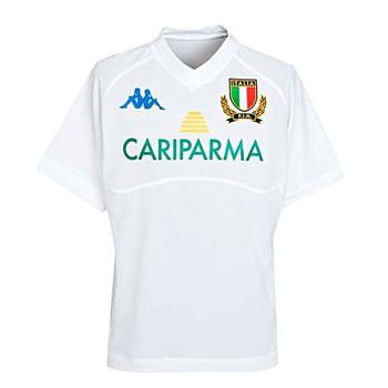KAPPA italy away replica rugby shirt junior