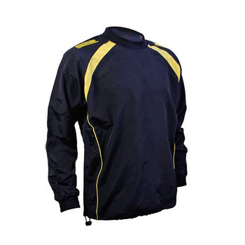 EGGCATCHER tauranga contact training jacket junior [black/gold]