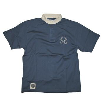 Oxford University short sleeve rugby shirt [navy]