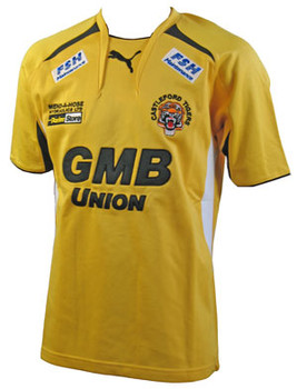 PUMA castleford tigers home rugby shirt