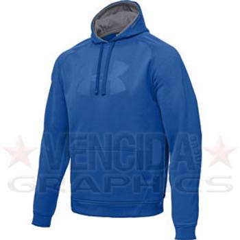 UNDER ARMOUR armourfleece graphic hoody [royal blue]