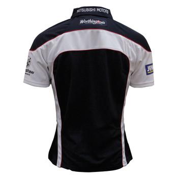 RUGBYTECH gloucester away short sleeve rugby shirt junior 09/10