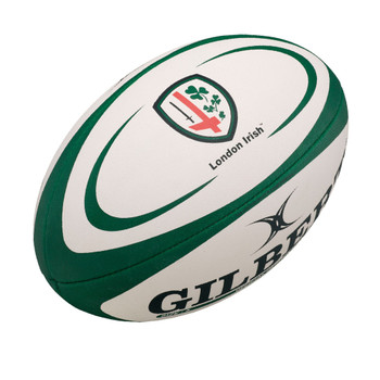 GILBERT london irish replica rugby ball