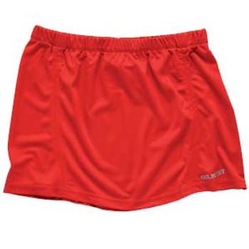 GILBERT pulse netball skirt [red]