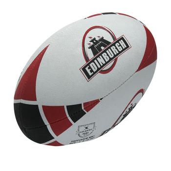 GILBERT Edinburgh supporter rugby ball