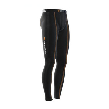 SKINS snow thermal compression long leggings [black]