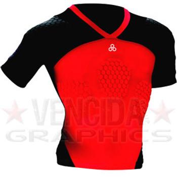 McDAVID hexpad max HDC rugby shoulder pads