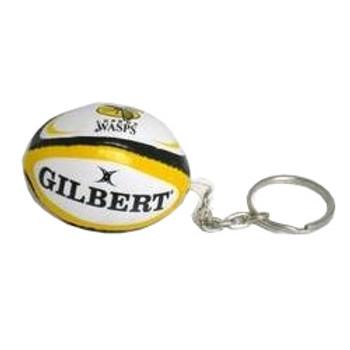 GILBERT london wasps rugby ball key ring