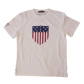 CCC US eagles rugby shield t-shirt [natural]