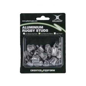 GILBERT aluminium rugby studs [15+18mm mix]