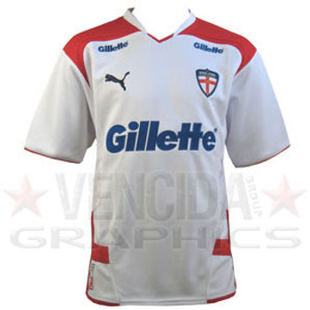 PUMA england rugby league home shirt [white]