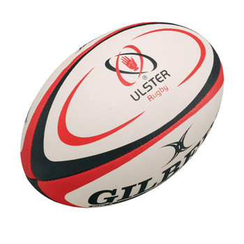 GILBERT ulster replica rugby ball [size 5]