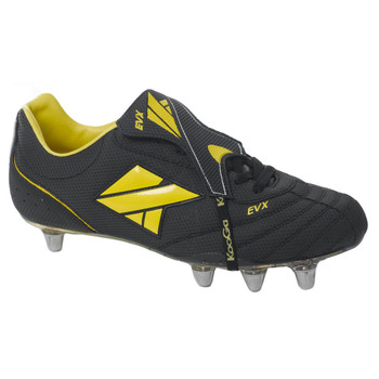 KOOGA EVX low cut soft toe rugby boot [black]
