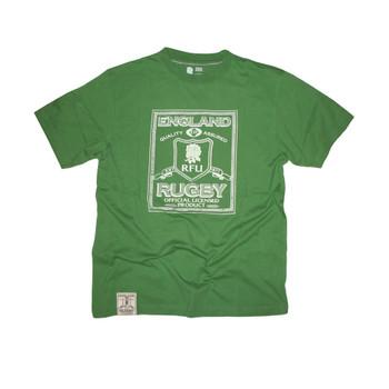 RFU England Rugby Heritage T-Shirt [green]