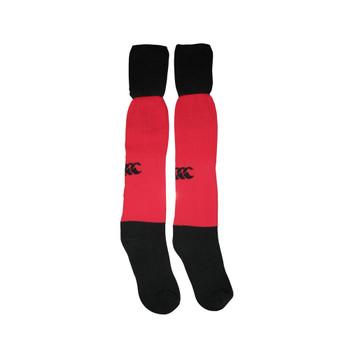 CCC team rugby sock junior [red/black]