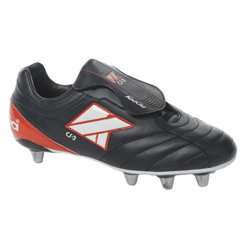KOOGA CS-3 Low Cut Soft Toe Rugby Boots [black]