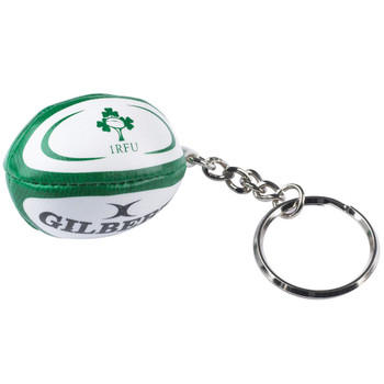 GILBERT ireland rugby ball key ring
