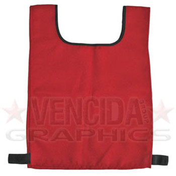 Training bib junior - 2 pack [red]