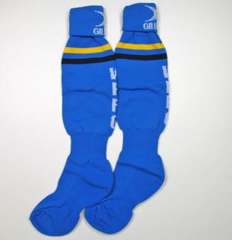 GILBERT teamwear rugby sock junior [sky/blue]
