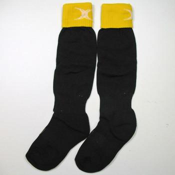 GILBERT teamwear rugby sock junior [black/yellow]