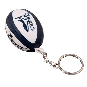 GILBERT sale sharks rugby ball key ring