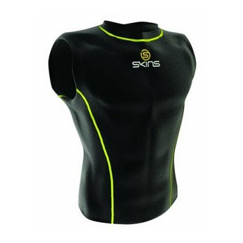 SKINS compression sleeveless men's top [black]