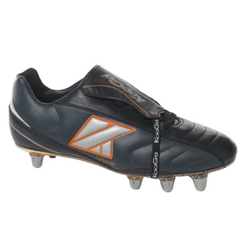 KOOGA VXS low cut soft toe rugby boot [black]