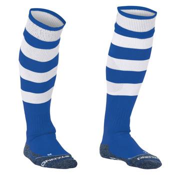 STANNO Original Hooped Socks [royal/white] junior