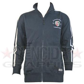 RUGBYTECH london irish full zip jacket