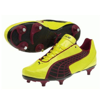 PUMA V5.10 Soft Ground Football Boots [yellow]