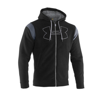 UNDER ARMOUR Armour Fleece Sherpa Full Zip Hoody [black]