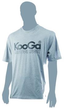 KOOGA basic logo t-shirt [grey]