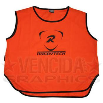 RUGBYTECH rugby training bib [orange]