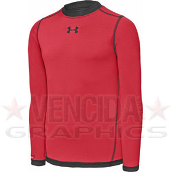 UNDER ARMOUR all season reversible long sleeve junior [red]