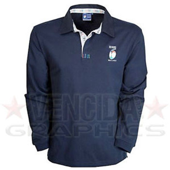 RBS 6 nations Long Sleeved Classic Rugby Shirt Junior