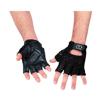 Gold's Gym Mesh Back Gloves [black]