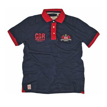 Kooga Great Britain 'British Sevens' Polo Shirt [navy]