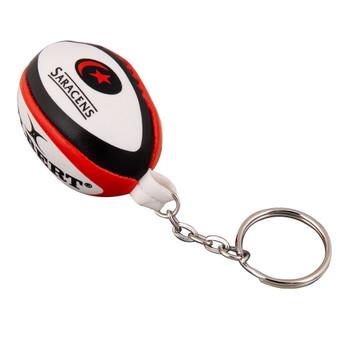 GILBERT saracens rugby ball key ring