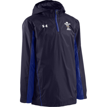 UNDER ARMOUR Wales 1/4 zip contact jacket junior 2010/11 [navy]