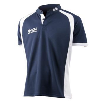 KOOGA teamwear panel match shirt [navy/white]