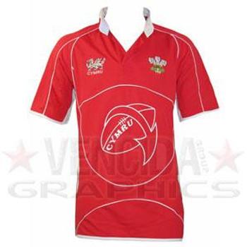 CYMRU wales rugby shirt junior