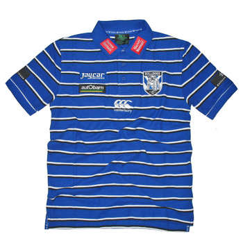 CCC Bulldogs NRL Players Media Rugby Polo Shirt