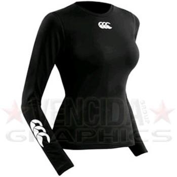 CCC baselayer cold long sleeve womens [black]