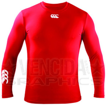 CCC baselayer cold basic long sleeve junior [red]