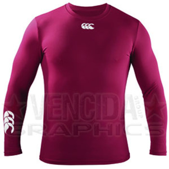 CCC baselayer cold basic long sleeve [maroon]