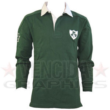 COTTON TRADERS Ireland Classic Long Sleeve Ruby Shirt - Small